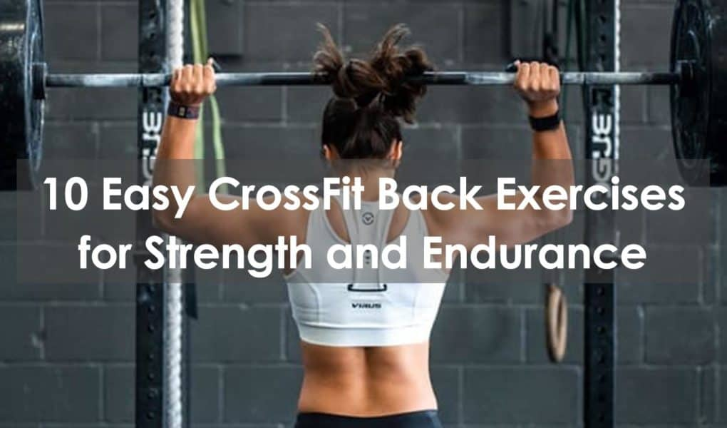 crossfit back exercises