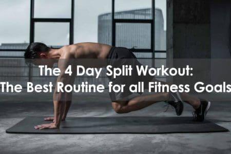 4 day split workout