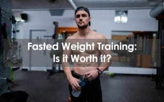 fasted weight training