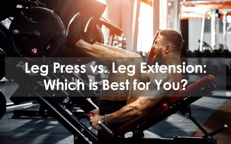 leg press vs leg extension