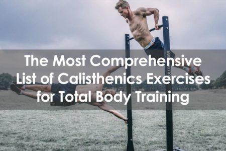 list of calisthenics exercises