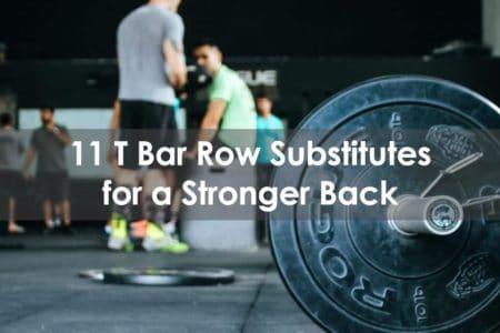 t bar row substitutes