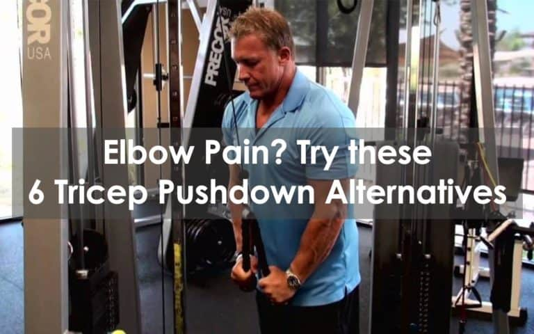 tricep pushdown alternative