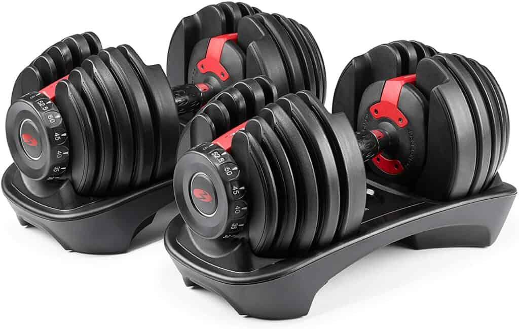 Best Adjustable Dumbbells - Bowflex SelectTech 552