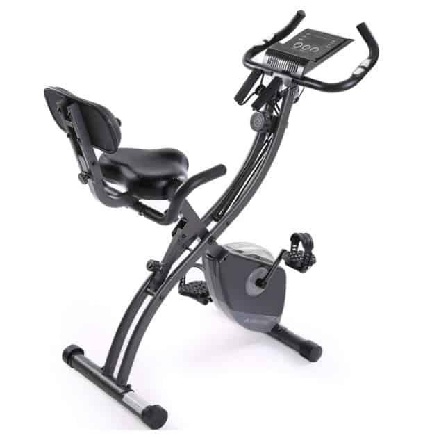 MaxKare Folding Magnetic Upright Exercise Bike