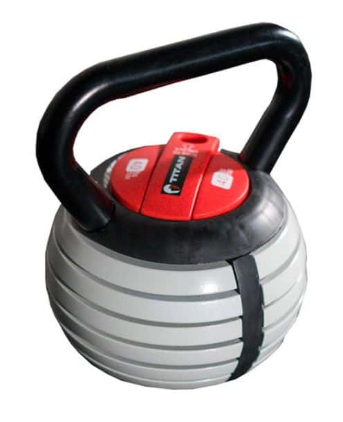 Best Adjustable Kettlebells - Titan Fitness
