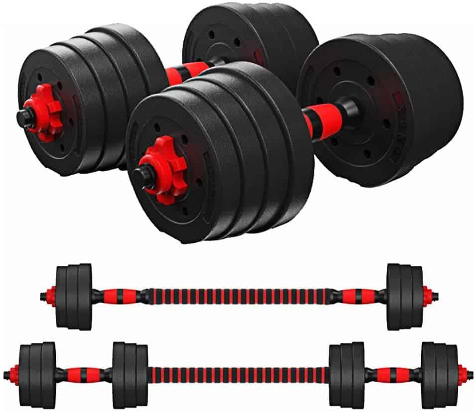 Best Adjustable Dumbbells - Tespon Adjustable Dumbbells