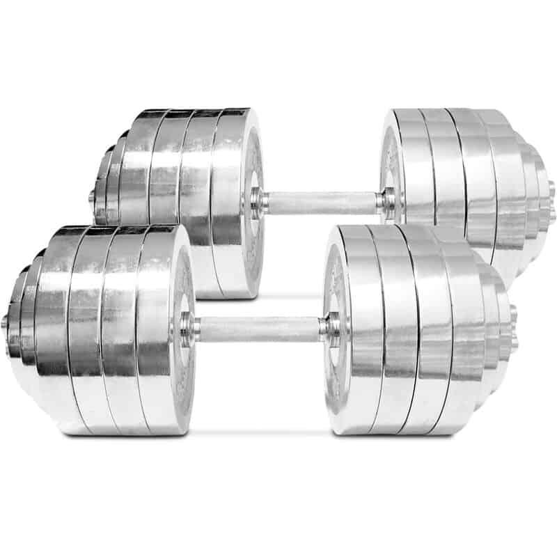Best Adjustable Dumbbells - Titan Chrome Dumbbells