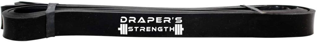 Draper's Strength Heavy Duty Pull Up Assistance and Powerlifting Stretch Bands