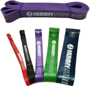 Mummy Strength Pull up Resistance Bands
