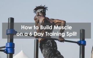 6 day training split