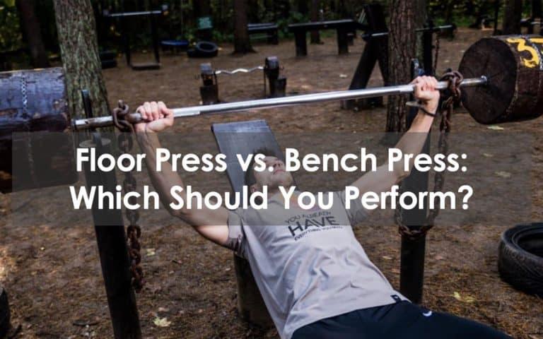 floor press vs bench press