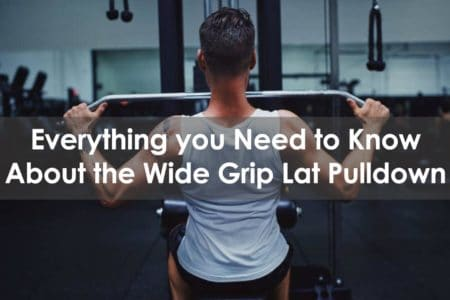 wide grip lat pulldown