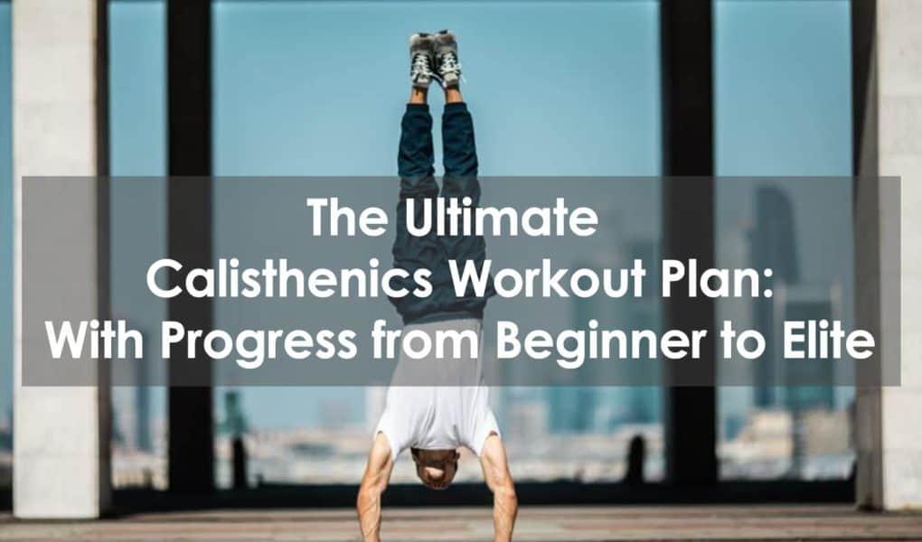 calisthenics workout plan