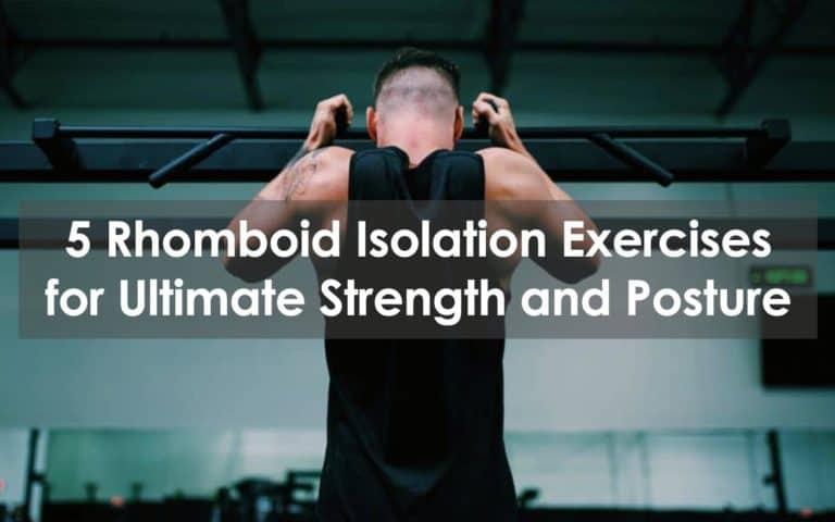 rhomboid isolation exercise