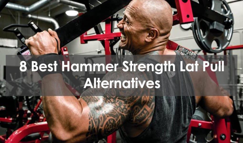 hammer strength lat pull alternative