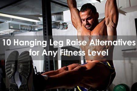 hanging leg raise alternative