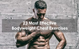 bodyweight chest exercises