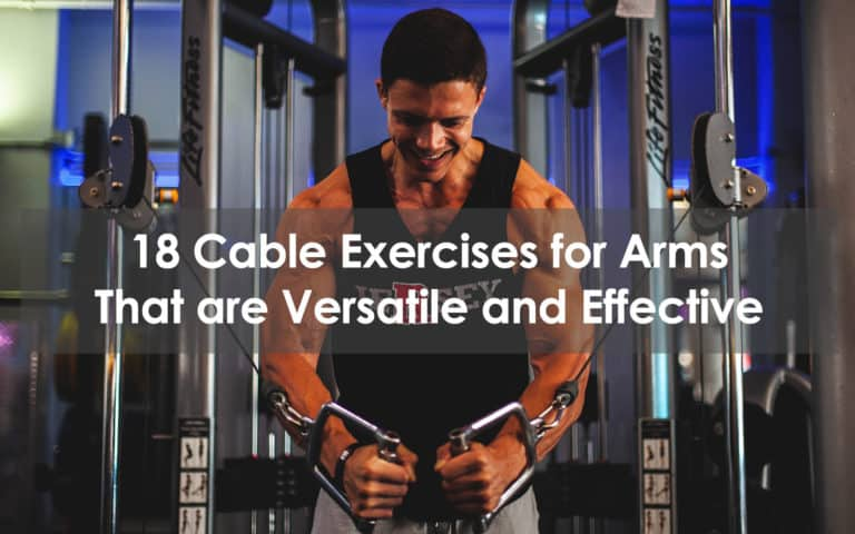 cable exercises for arms