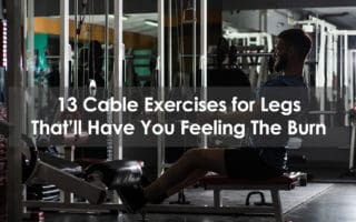 cable exercises for legs