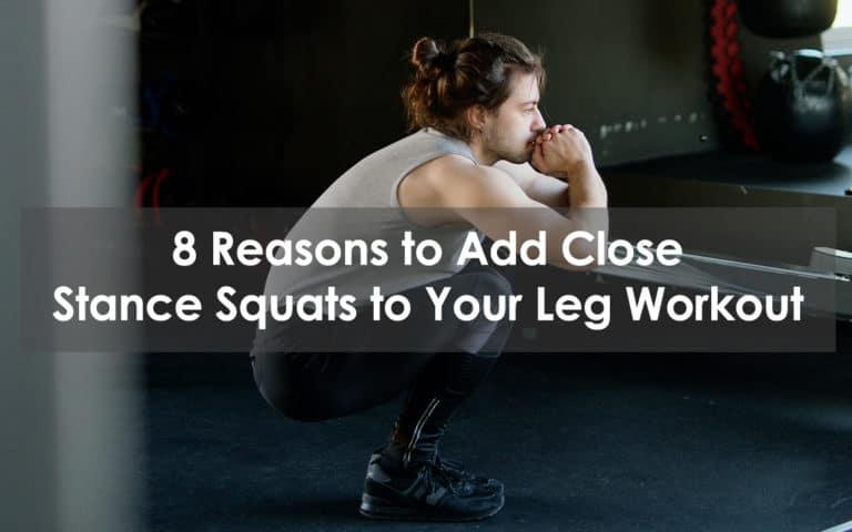 close stance squats