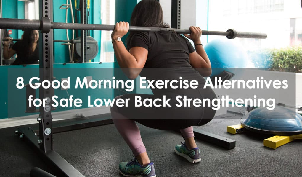 good morning exercise alternative