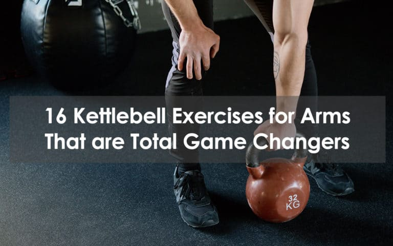 kettlebell exercises for arms
