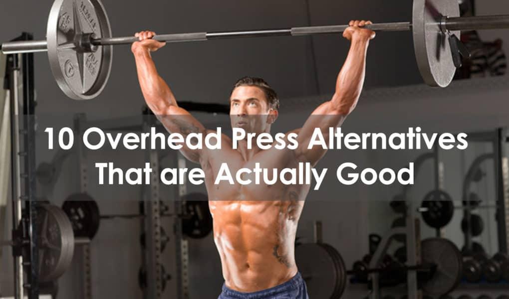 overhead press alternative