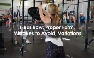 t-bar row